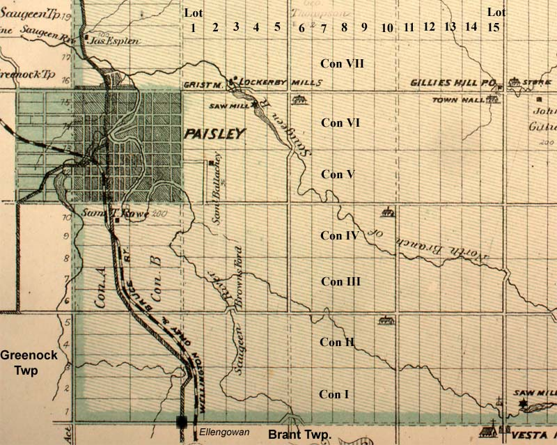 Historic Paisley  Alphabetical List